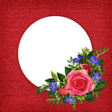 Roses and wild flowers bouquet Royalty Free Stock Photography