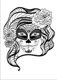 RoseSkull Imagen de archivo