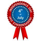 Rosetón del Día de la Independencia del 4 de julio Fotos de archivo libres de regalías
