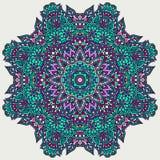 Rosetón floral del garabato Fotos de archivo libres de regalías