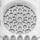 Rosetta de Notre Dame Fotos de archivo