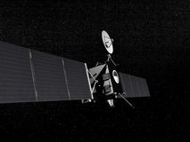 Rosetta probe - 3D render Royalty Free Stock Image