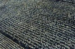 Rosetta sten royaltyfria foton
