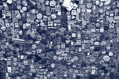 Rosettamuur Stock Foto