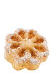Rosette. Pastry isolated on a white background Royalty Free Stock Photos