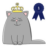 Rosette cat Royalty Free Stock Photos