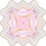 Rosette de guilloche Photo libre de droits