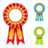 Rosette de récompense Image stock