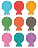 Rosette decorations Stock Photos