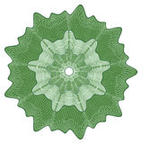 Rosette do Guilloche Imagem de Stock