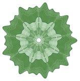 Rosette do Guilloche Imagem de Stock