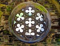 Rosette ein mittelalterliches Gebäude Lizenzfreies Stockbild