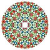 Rosette florale Image libre de droits