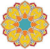Rosette Flower Composition. Including Vector royalty free illustration