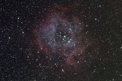 Rosette nebula Stock Image
