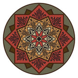 Rosette pattern02 Stock Images