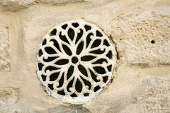Rosette ventilation cover Royalty Free Stock Photography