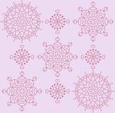 Rosettes bonitos do vetor Imagens de Stock Royalty Free