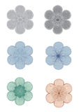 Rosettes - Design elements vector Stock Photography