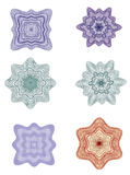 Rosettes - Design elements vector Stock Image