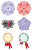Rosettes - Design elements vector Royalty Free Stock Photos