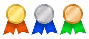 Rosettes4 del vincitore Fotografia Stock
