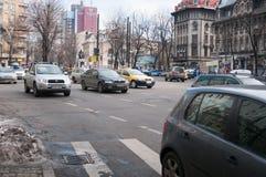 Rosetti广场视图 免版税库存照片