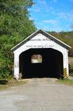 Roseville被遮盖的桥 库存照片