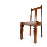 Rosewood chair , isolated on white. Stock Images