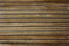 Rosewood pokład na jachcie zdjęcie stock