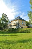 Rosfors Manor in Norrbotten Stock Images