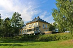 Rosfors Manor in Norrbotten Stock Images