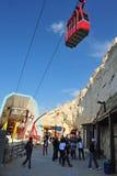 Rosh HaNikra洞穴-以色列 库存照片