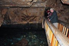 Rosh HaNikra洞穴-以色列 免版税库存图片