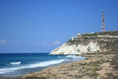 Rosh hanikra Royalty Free Stock Images