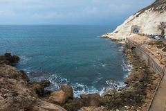 Rosh HaNikra bay Stock Photography