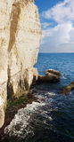 Rosh HaNikra cliff Stock Photo