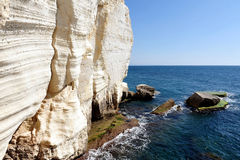 Rosh HaNikra Grottos - Israel Royalty Free Stock Photo