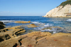 Rosh HaNikra national reserve, Israel. Royalty Free Stock Photos