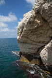 Rosh HaNikra near the Lebanon border Stock Image