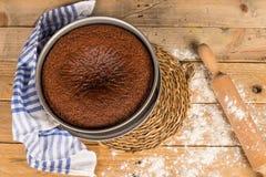 Rosh Hashanah cake Stock Image