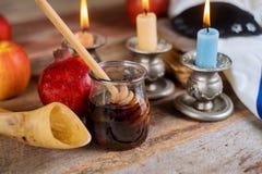Rosh-hashanah j?discher Neujahrsfeiertag lizenzfreies stockbild