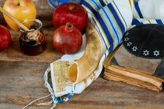 Rosh-hashanah j?disches Neujahrsfeiertagkonzept Selektive Weichzeichnung lizenzfreie stockfotos