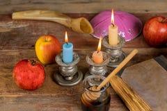 Rosh-hashanah j?disches Neujahrsfeiertagkonzept stockfotos