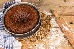 Rosh Hashanah Jewish cake Royalty Free Stock Images