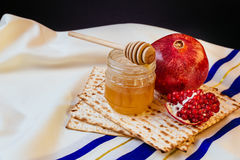 Rosh hashanah jewish holiday matzoh passover bread torah. Rosh hashanah jewish holiday passover jewish matzoh bread holiday matzoth celebration Stock Photography