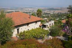 Rosh Pinna. A view of Rosh Pinna in upper Galilee, Israel Royalty Free Stock Image