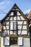 Rosheim (Αλσατία) - σπίτι Στοκ εικόνες με δικαίωμα ελεύθερης χρήσης