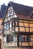 Rosheim (Αλσατία) - σπίτι Στοκ Φωτογραφία