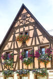 Rosheim (Эльзас) - дом Стоковые Изображения